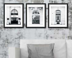 Chanel Dior Yves Saint laurent print fashion wall art, set of 3 prints black and white photography, Bathroom wall decor #bathroom #bathroomwalldecor #walldecor #wallart #chanel #dior #StLaurent #YSL #blackandwhitephotography #blackbathroom #blackandwhitebathroom #bathroomdecor #blackandwhitedecor #fashionwallart Laundry Room Wall Decor, Bathroom Wall Decor, Bedroom Wall, Paris Wall Decor, White Wall Decor, Black And White Background, Black And White Prints, Personalized Wall Decor, Fashion Wall Art