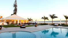 Casa do Capitao pool area.