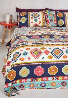 It'd be My Desert Quilt Set in Full/Queen