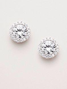 Diamond Earrings diamonds are a girls best friend How would you describe this? Diamond Studs, Diamond Jewelry, Diamond Earrings, Stud Earrings, Diamond Mangalsutra, Solitaire Earrings, Solitaire Ring, Teardrop Earrings, Vintage Wedding Jewelry