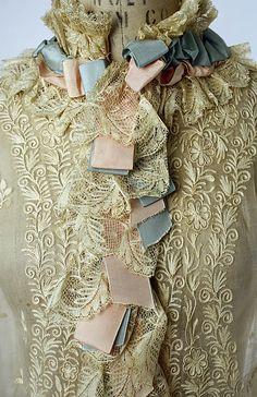 Peignoir Date: 1874–77 Culture: French Medium: cotton, silk.