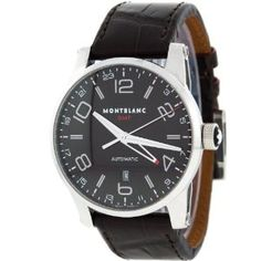 Montblanc GMT 7216 Swiss Stainless Steel Automatic Mens Watch