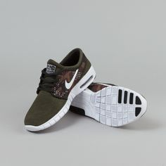 Nike SB Stefan Janoski Max L Sequoia / White - Black