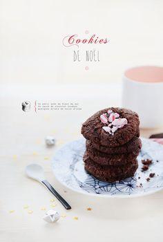{6} Cookies de Noel, chocolat et fleur de sel www.griottes.fr/6...