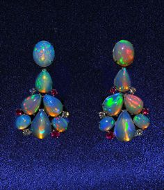 DREAMTIME: Ethiopian Opal Earrings