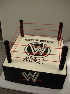 WWE Ring Cake by Angel Contreras, via Flickr