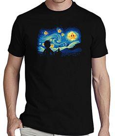 LaTostadora T-shirt super starry night - Men's t-shirt, short sleeve, top quality Black Talla S LaTostadora http://www.amazon.co.uk/dp/B010QKGLI8/ref=cm_sw_r_pi_dp_X7iOwb07GR2XJ