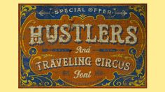 Free Retro and Vintage Fonts: Hustlers Rough