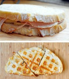 23 Things You Can Cook In A Waffle Iron | Waffle Iron Panini - totally trying this!!!