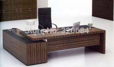 ESCRITORIOS EN L Office Table, Home Office, Office Desks, Furniture Legs, Office Furniture, Modern Executive Desk, Modern Office Design, Wood Table, Corner Desk