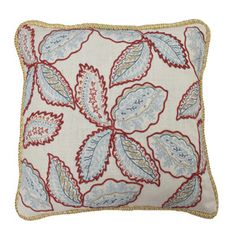 Tilly Embroidered Pillow