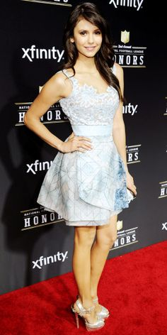 Nina Dobrev in Zuhair Murad (NFL Honors Awards)