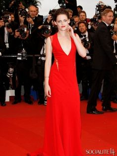 """Kristen Stewart attends the """"Cosmopolis"""" premiere during the 65th Annual Cannes Film Festival"""