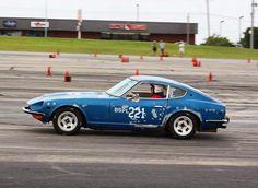 I gotta go fast! Thanks to Adame Motorsports. Follow them on Facebook for more Oklahoma City SCCA photos!  #SCCA #timeattack #autocross #nissan #bondoblue #s30 #firstcar #oklahomabuilds #oklahomacars #girlowned #officially #Datsun #240z #datsun240z #280z #Ratsun #photography #1973 #vintage #vintagecar #carsofinstagram #racing #mechaniclife #carsofoklahoma #ladydriven #ladyowned by datsun240twinz #datsun240z