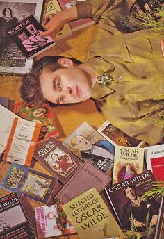 """""""To live is the rarest thing in the world. Most people exist, that is all"""" - OSCAR WILDE - (Morrissey meets Wilde)"""