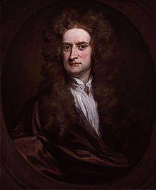 Isaac newton heeft een natuurwet gemaakt genaamd de zwaartekrachtwet. Hij gebruikte heel veel wiskunde. Er is ook een verhaal met een appel en dat hij daarmee op zijn idee is gekomen.