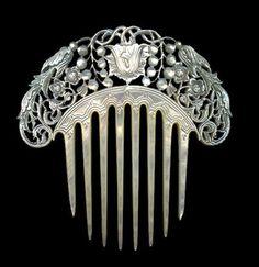 Hair Comb, ca 1850