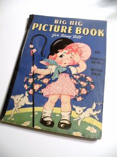 20 off Coupon Sale  1940s Big Big Picture Book