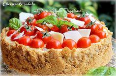 Cheesecake salata al Parmigiano