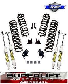 2007-2017-Jeep-JK-Unlimited-2-5-034-Suspension-K931-Lift-Kit-Made-USA-4-Door-JKU