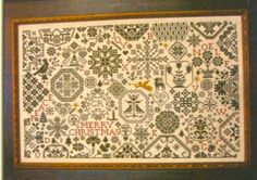 A Quaker Christmas from ByGone Stitches