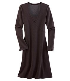 Tomboy Wrap Dress - Dresses - Dresses, Skirts & Skorts - Title Nine  Have this in eggplant and love it! Very flattering and goes with everything.