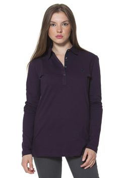 Polo Donna Fred Perry (BO-31162409 V0038) colore Viola