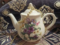 Arthur Wood & Son Staffordshire England Teapot