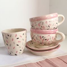 Pottery Handbuilding, Kitchenware, Tableware, Hand Built Pottery, Biscuit, Ceramic Cups, Mug Designs, Clay Art, Tea Cups