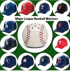 MLB fans! Decorate your man cave or favorite room with one of these!! Add in some wax and enjoy the fragrance during the game!  www.michelleschwagel.scentsy.us
