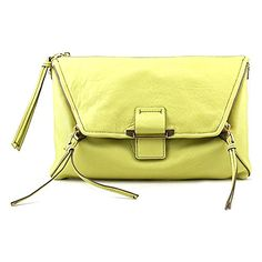 Kooba Handbags Jonnie Clutch Lemon Yellow One Size ** Find out more about the great product at the image link.