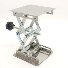 "4*4"" Lab-Lift Lifting Platforms Stand Rack Scissor Lab-Lifting Stainless steel"