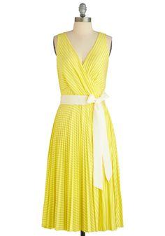 Citrus By My Side Dress, #ModCloth