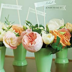 "love the ""posy to go-sy"" 
