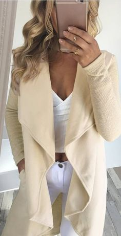 nude shades is always good to pair with white details