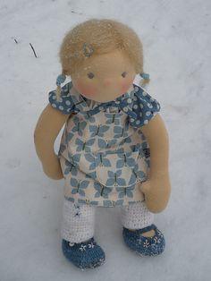 Fröken Skickling's handmade dolls Raggy Dolls, Winter Kids, Doll Parts, Little Doll, Cute Toys, Waldorf Dolls, Sewing Toys, Soft Dolls, Custom Dolls