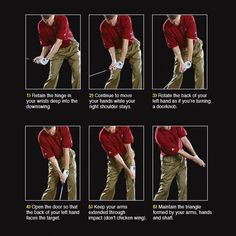 Build a Repeating Swing #ImportantThingsYouNeedToKnowInGolf Tips And Tricks, Golf Mk4, Golf Breaks, Golf Instruction, Golf Putting, Golf Exercises, Perfect Golf, Golf Lessons, Golf Gifts