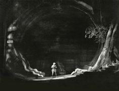 """"""" Siegfried """" 2.Akt 1951 Wieland Wagner Bühnenphoto"""