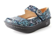 Alegria Paloma Blue Collage - on closeout for $69! | Alegria Shoe Shop #AlegriaShoes #Closeout