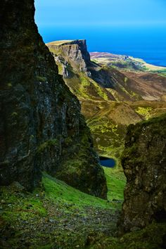 Hiking the Quiraing: Isle of Skye, Scotland.  Our tips for fun things to do in Scotland: http://www.europealacarte.co.uk/blog/2010/12/30/things-scotland/