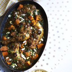 Chicken tagine with honey and dates  - countryliving.co.uk