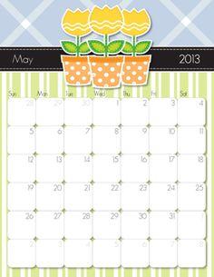 2013 may printable calendar
