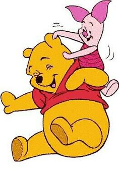Pooh Bear and Piglet Too!! ❤❤