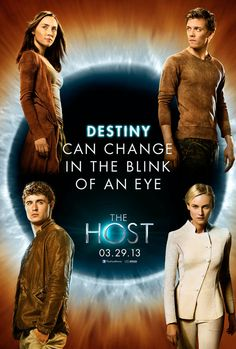The Host - Eh- this movie was alright.  It was pretty darn predictable and the one guy falling in love with a jellyfish being is a bit strange...