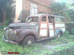 1945-47 Chev 3/4ton brave restoration project.