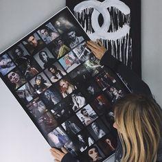 Это большие, яркие, супер-глянцевые постеры на плотной супер-глянцевой фото-бумаге с высоким качеством цветопередачи и четкой детализацией. Постеры имеют два вида идеально ровных сеток (черная или белая сетка-шаблон), в которых располагаются ваши фотографии. Используются на мероприятиях (оформления стен), дома оформление рабочего или детского пространства, так же дарят в для подарок - это идеальный вариант. www.instamag.ru