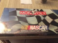 Monopoly Nascar 1997 Official Collectors Addition Game New Sealed #ParkerBrothers