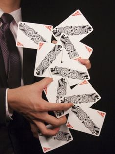 New from New Deck Order, The School of Cardistry Deck is available at JP Playing Cards now. Bee Playing Cards, Magic Store, Red Knight, Magic Tricks, Gold Ink, Gems And Minerals, Nautical Theme, Flat Design, Runes