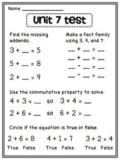 math worksheet : 1000 images about home school on pinterest  worksheets 1st  : Commutative Property Of Addition Worksheets For First Grade