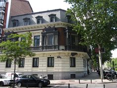 PALACETE DE LA CALLE ALFONSO XII.  En el nº 16. Construido en 1906